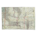 Holt's New Map, Wyoming Pillowcase