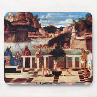 Holy Allegory by Bellini Mouse Pad
