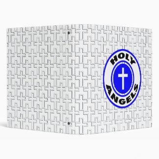 Holy Angels 3 Ring Binder