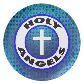 Holy Angels Dinner Plates