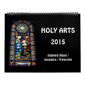Holy Arts 2015 Wall Calendar