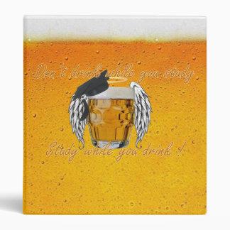 holy beer map 3 ring binder