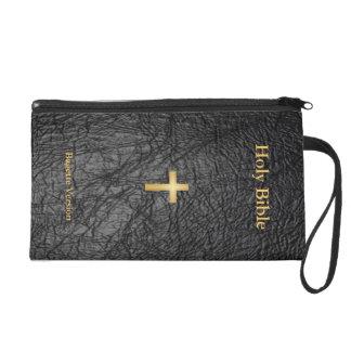 Holy Bible Bagette Wristlet Purse