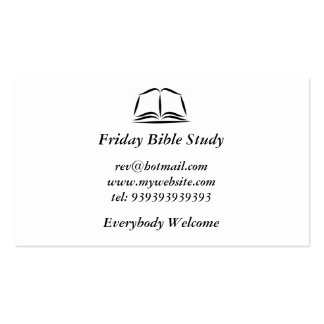 Holy Bible Double-Sided Standard Business Cards (Pack Of 100)