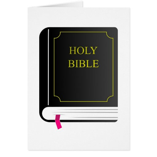 Holy Bible Card