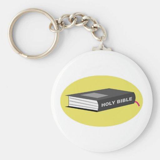 Holy Bible Key Chain
