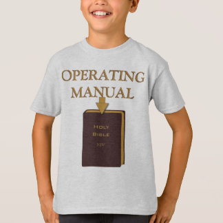 Holy Bible Operating Manual - Kids'/Child Shirt