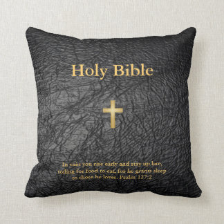 Holy Bible Pillow