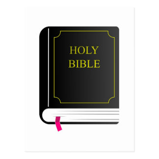 Holy Bible Postcard