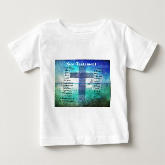 Holy Books of the Bible from the New Testament Baby T-Shirt