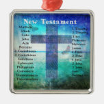 Holy Books of the Bible from the New Testament Christmas Ornament