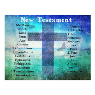Holy Books of the Bible from the New Testament Postcard