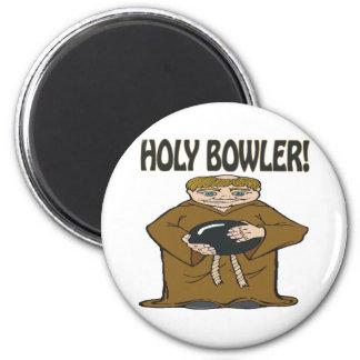Holy Bowler Magnet