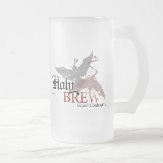 Holy Brew frosted mug - 16oz