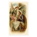 Holy Cards (Blank/Custom): St. Joseph Nativity Business Card