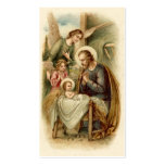 Holy Cards (Quote): St. Joseph Nativity Double-Sided Standard Business Cards (Pack Of 100)
