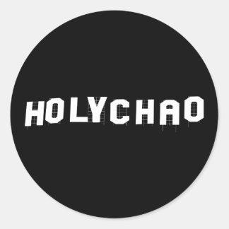 Holy Chao black sticker