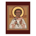Holy Child Martyr Gabriel Prayer Card Postcard