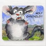 Holy Chincholey Chinchilla Mousepad