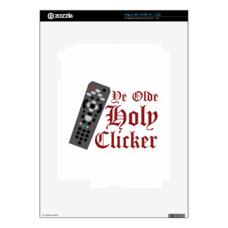 Holy Clicker Decal For iPad 2