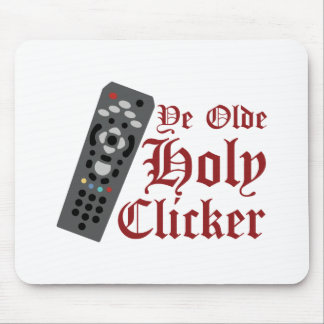Holy Clicker Mouse Pad