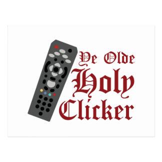 Holy Clicker Postcard