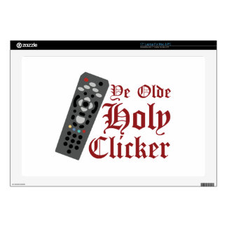 """Holy Clicker Skin For 17"""" Laptop"""