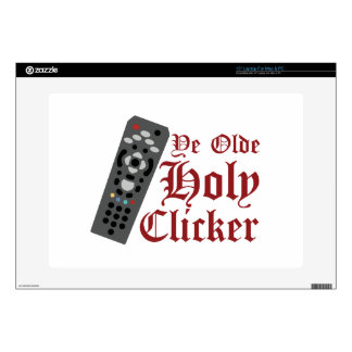 Holy Clicker Skin For Laptop