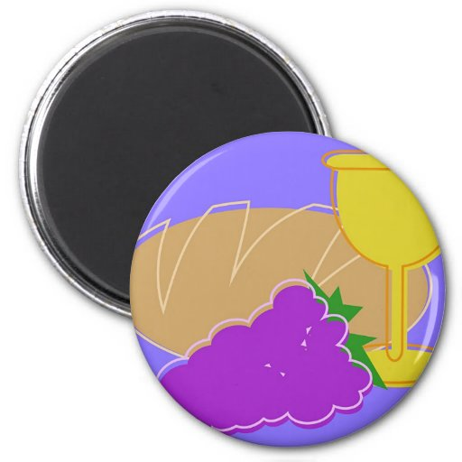 Holy Communion 2 Inch Round Magnet