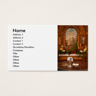 Holy communion business card