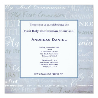 Holy Communion Card