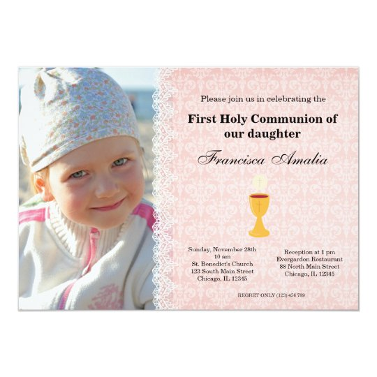 Holy Communion Card