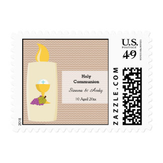 Holy Communion * Choose your background color Postage