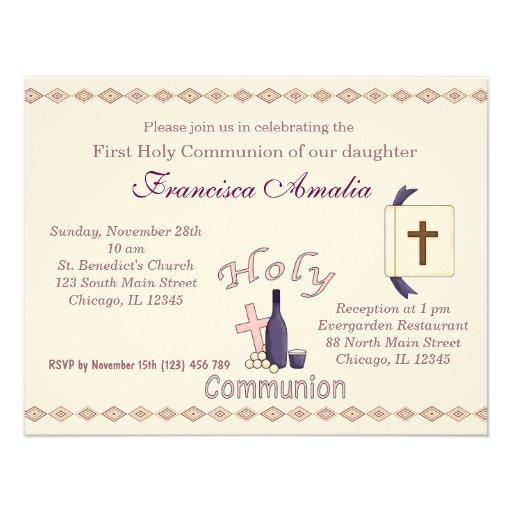 Holy Communion Custom Announcement