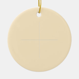 Holy Communion Double-Sided Ceramic Round Christmas Ornament