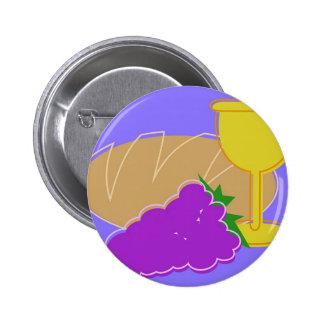 Holy Communion Pinback Button