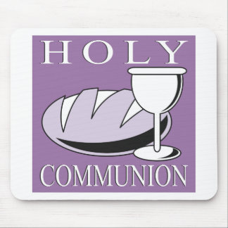 Holy Communion Sacrament Mouse Pad