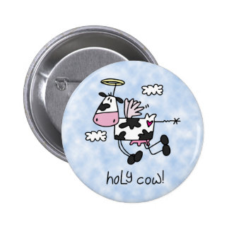 Holy Cow! 2 Inch Round Button