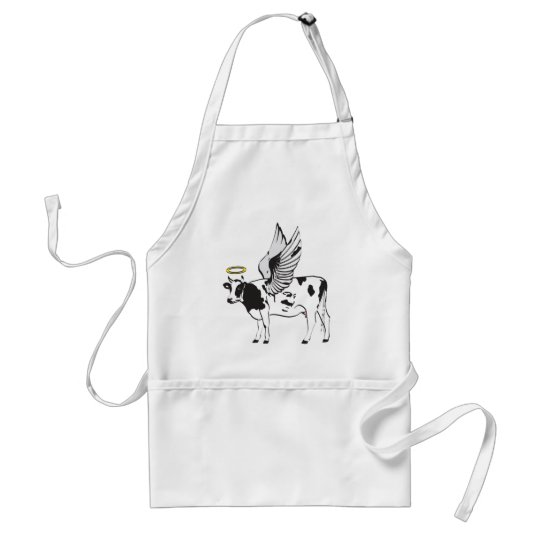 HOLY COW ADULT APRON