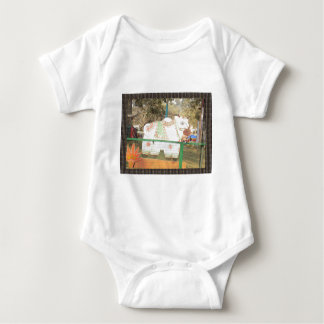 HOLY COW animal statue exhibition festival show Baby Bodysuit