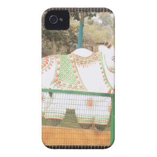 HOLY COW animal statue exhibition festival show Case-Mate iPhone 4 Case