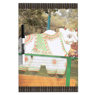 HOLY COW animal statue exhibition festival show Dry-Erase Board