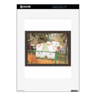 HOLY COW animal statue exhibition festival show iPad Skins