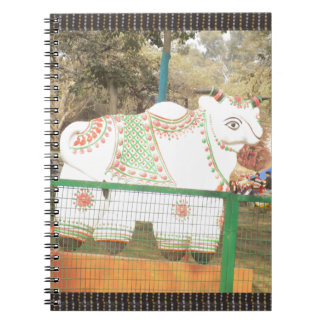 HOLY COW animal statue exhibition festival show Notebook