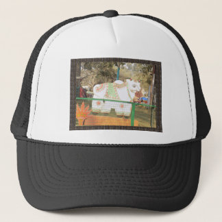 HOLY COW animal statue exhibition festival show Trucker Hat