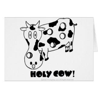 Holy Cow! Birthday Card