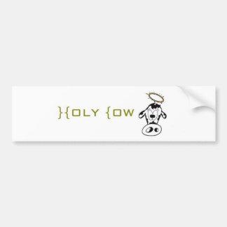 Holy Cow Car Bumper Sticker