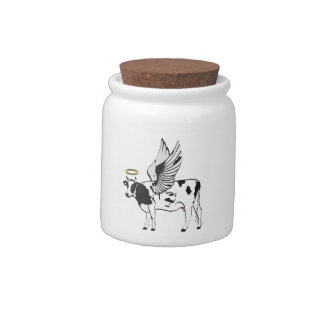 HOLY COW CANDY JARS