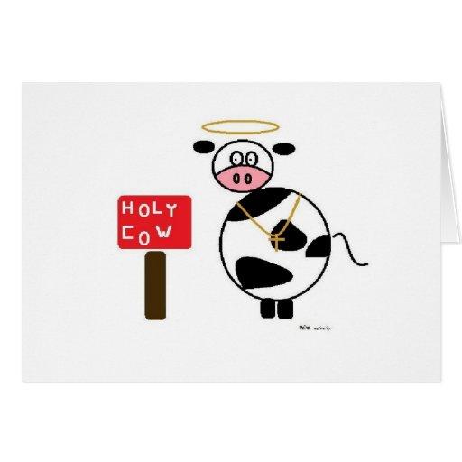 holy cow! card