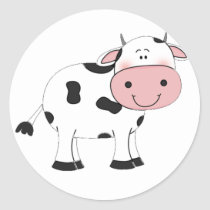 Holy Cow Classic Round Sticker